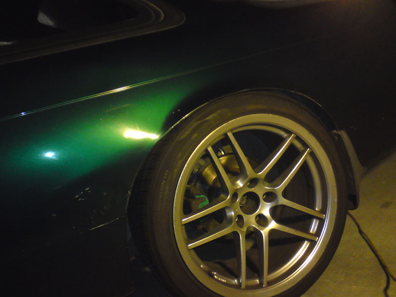 My car with the Pro Fives still installed. They actually go pretty low.