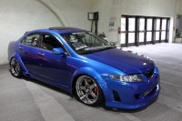 Custom Widebody Acura TSX on SSR Sp1 in SBC
