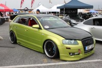 Clean and slammed Audi A3