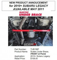 Front Under Brace for Subaru Legacy