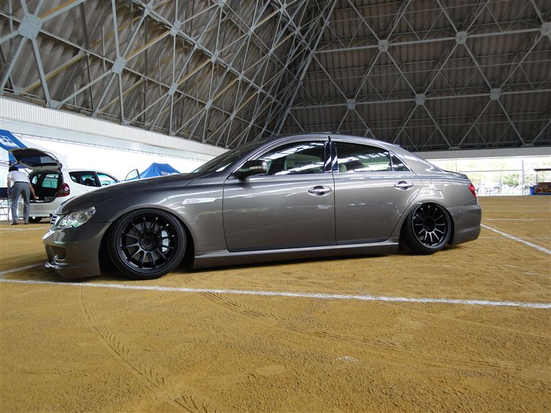 Toyota Mark X With Ssr Type F 187 More Japan Blog
