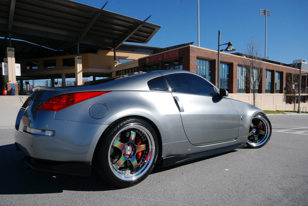 Abarclay S Clean 350z With Ssr Sp1 In Spectrum Silver
