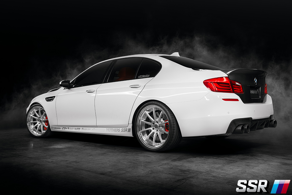 ssr vivid racing bmw, f15, m5