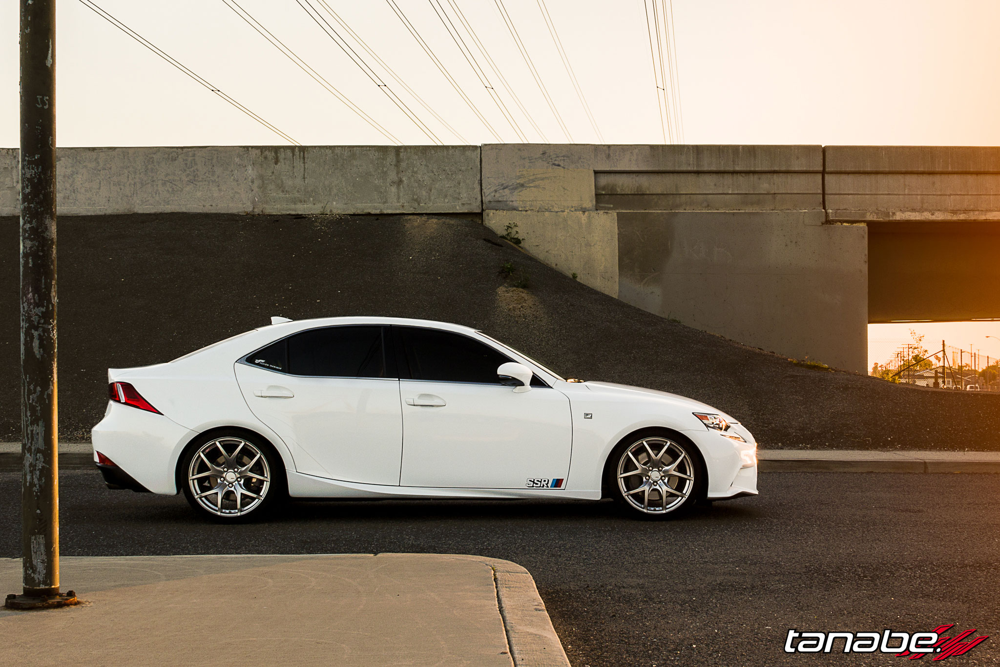 2014 Lexus Is350 F Sport On Tanabe Springs And Gtv03