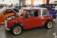 This Mini had a Honda transplant, pretty cool to see and I bet it's a blast to drive.