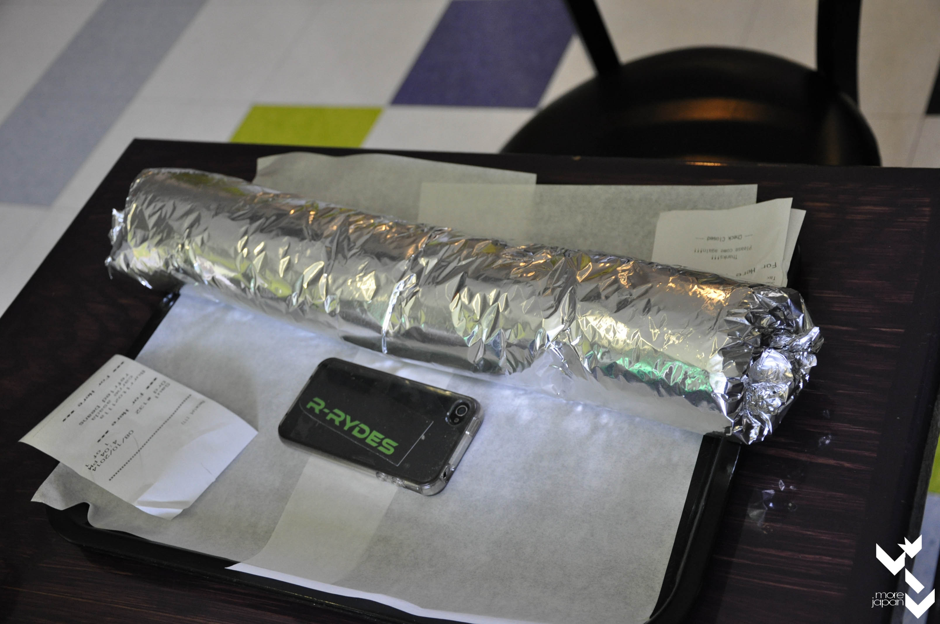 ... giant burritos confirmed.