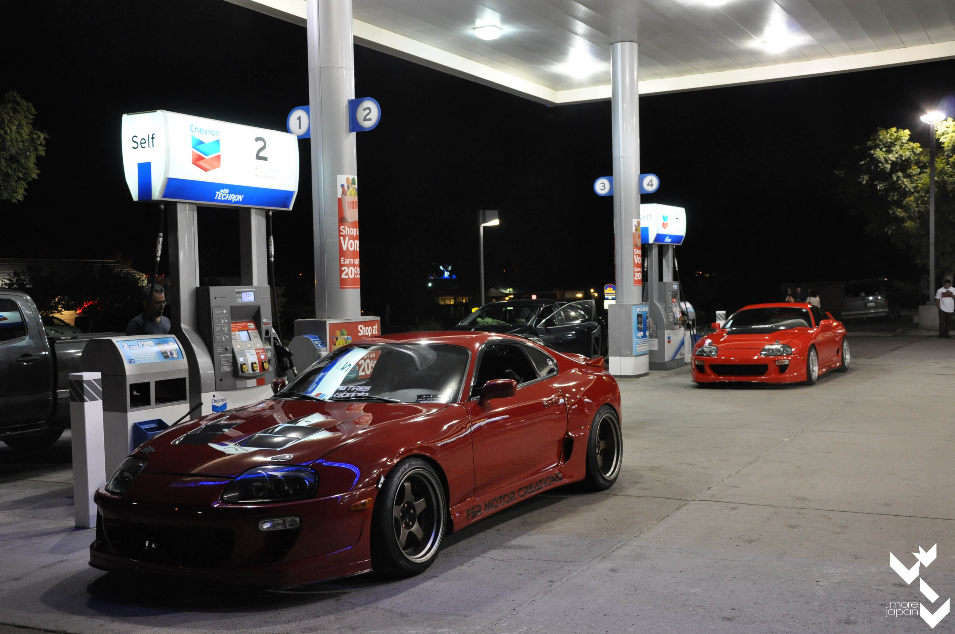 Second stop for gas. Gotta take gas station pics.