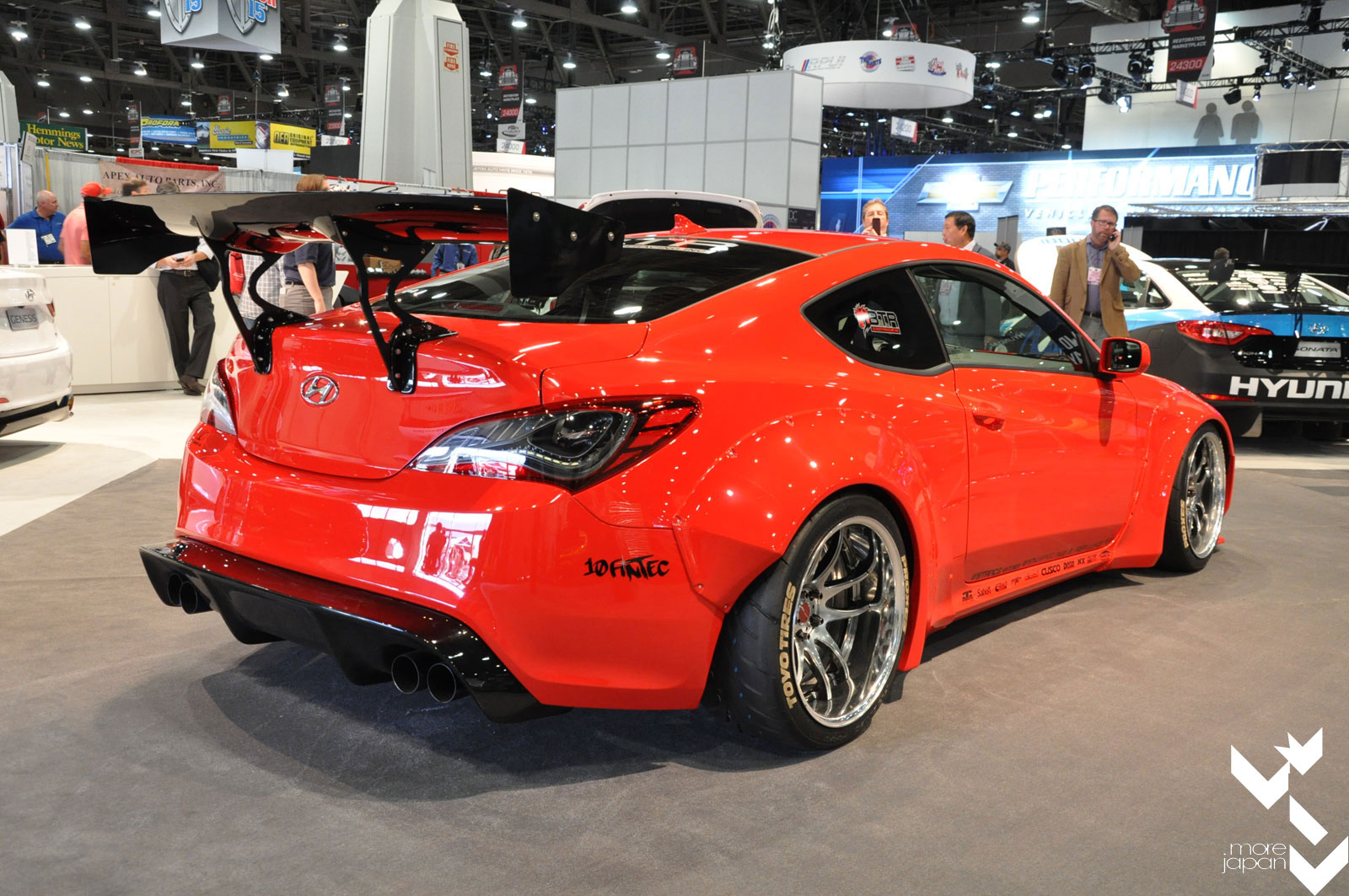 2014 Sema Spotlight Blood Type Racing S Rocket Bunny Genesis Coupe 187 More Japan Blog