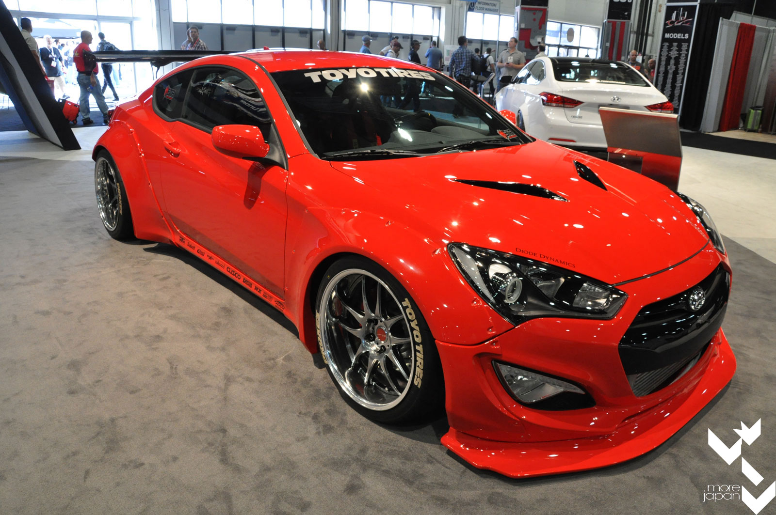 2014 Sema Spotlight Blood Type Racing S Rocket Bunny