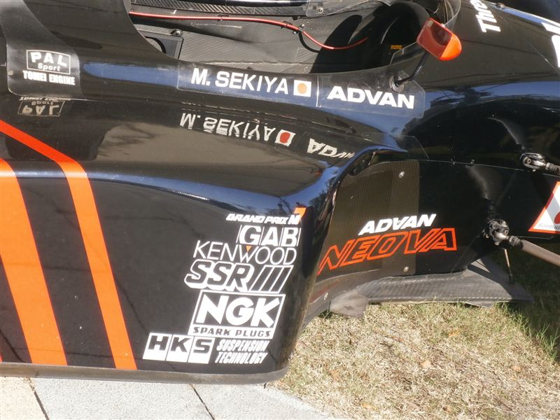 Advan SSR LOLA stickers
